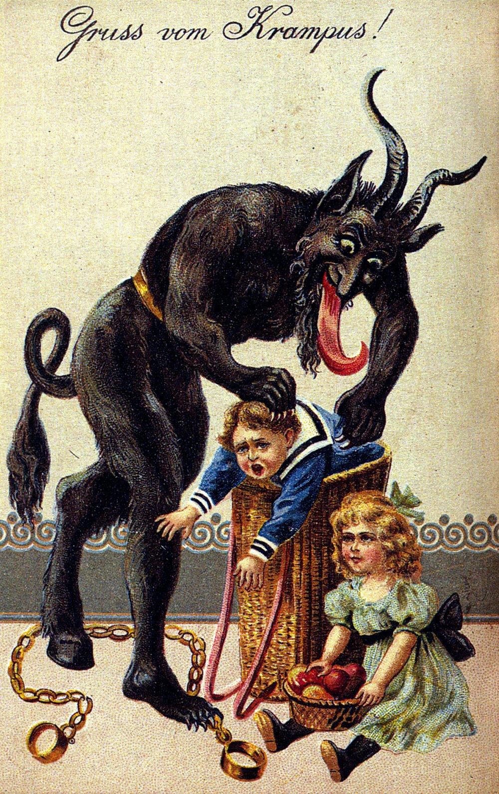 Grüss von Krampus! The Christmas Devil